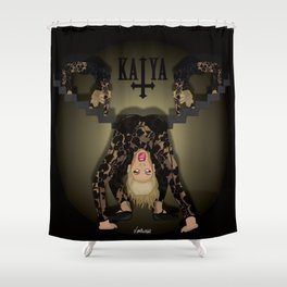 Katya Zamolodchikova - Exorcist Shower Curtain
