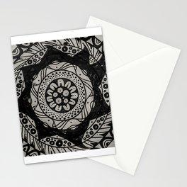 Flower Spike Mandala Stationery Cards