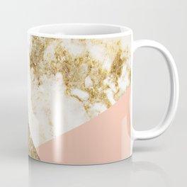 Gold marble collage Coffee Mug