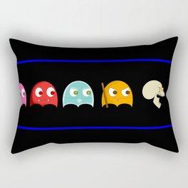Bob's on the loose Rectangular Pillow