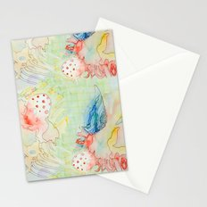 octopus monster Stationery Cards