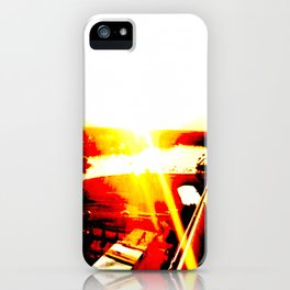 3 o'clock desperation iPhone Case