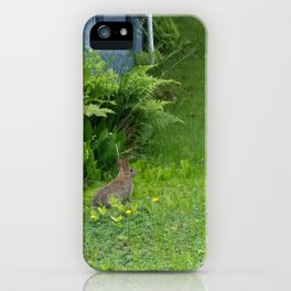 Guest in the Yard iPhone Case