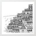 Positano, Italy by cardinecaffery
