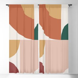 Abstract Geometric 13 Blackout Curtain