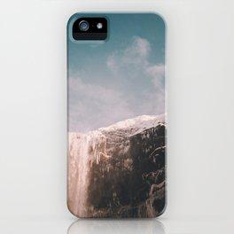 Iceland Waterfall Wanderlust iPhone Case