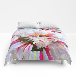 Flowers of  Pure Love Essence Comforters