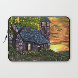 Essex House Lighthouse by Ave Hurley  Laptop Sleeve
