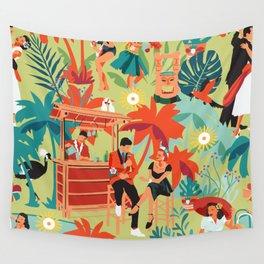 Resort living Wall Tapestry