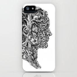 portrait of summer iPhone Case