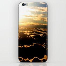 Sunset over the Atlantic Ocean iPhone Skin