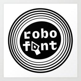 RoboFont Looney Art Print