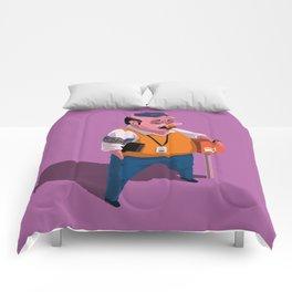 Greetings from Hungary II Comforters