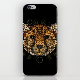 Cheetah Face iPhone Skin