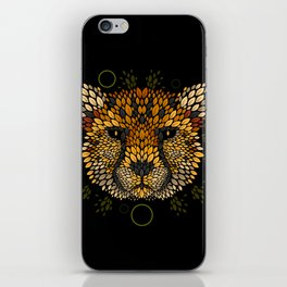 Cheetah Face iPhone Skin