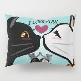 Love you cats Pillow Sham
