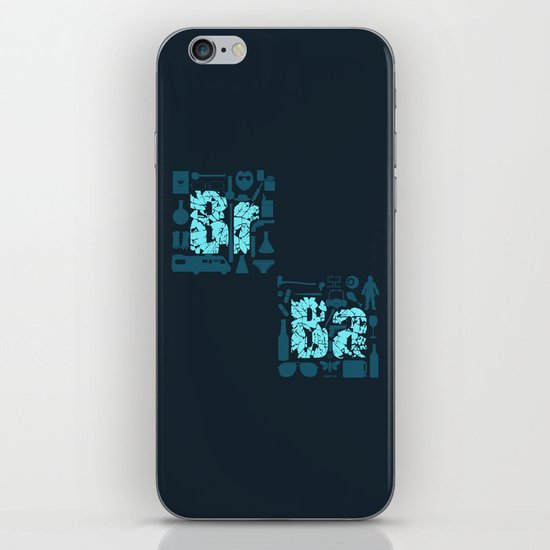 Br Ba iPhone & iPod Skin