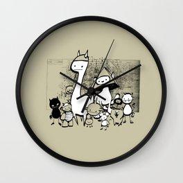minima - coup Wall Clock