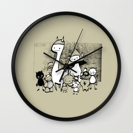 minima - coup Wall Clock