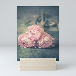 Lovely Ranunculus Mini Art Print