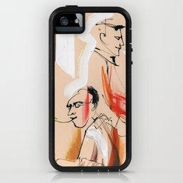 Jazz musicians concert iPhone Case