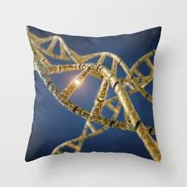 Genetic engineering Throw Pillow