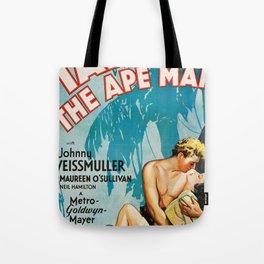Tarzan The Ape Man Tote Bag