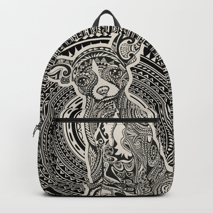 Polynesian Chihuahua Backpack