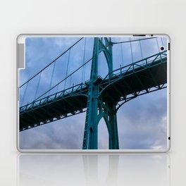 St. Johns Bridge, Gothic Tower Laptop & iPad Skin