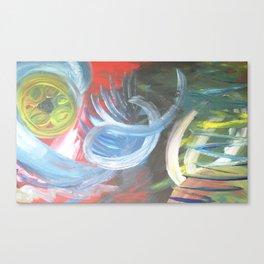 Love the West Abstract Art Santa Fe Art Canvas Print