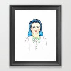 Evette Framed Art Print