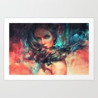 alicexz Art Prints featuring Islands by Alice X. Zhang