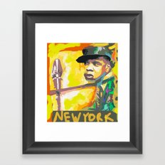 JAY Z's NEW YORK BY Cd Kirven Framed Art Print