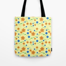 Floral-007 Tote Bag