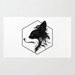 Canine Republic : Border Collie Rug