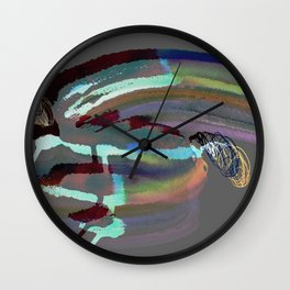 Turquise 07 D Wall Clock