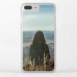 La Sédunoise Clear iPhone Case