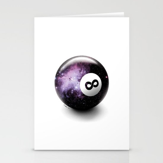 Infinity Shot Stationery Cards