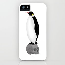 Penguins Standing Guard iPhone Case