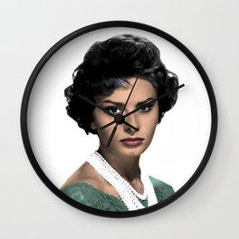 SOPHIA L O R E N Wall Clock