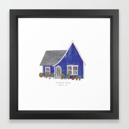 The Austin Collection: Josephine House Framed Art Print