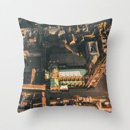 Beautiful Notre Dame in Strasbourg, France Throw Pillow