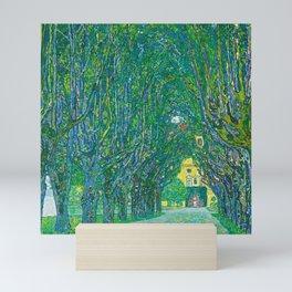 """Gustav Klimt """"Avenue in the park in front of Schloss Kammer"""" Mini Art Print"""