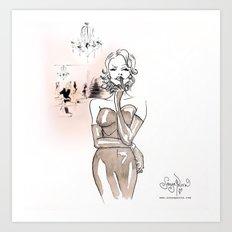Mae Art Print