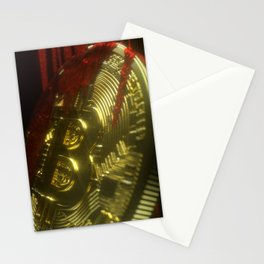 Bitcoin Blood Stationery Cards