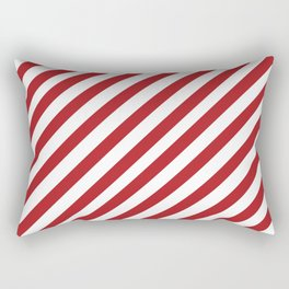 Candy Cane - Christmas Illustration Rectangular Pillow