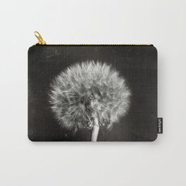 Dandelion Tintype Carry-All Pouch