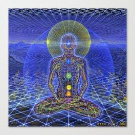 alex grey 2021 the buddha Canvas Print