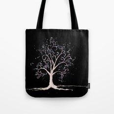 Dark elven tree Tote Bag