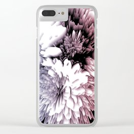 Mums as a cold interpretation Clear iPhone Case